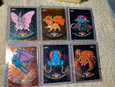 Topps Chrome Pokemon 2000 TV Animation Edition Lot Of 8