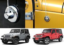 Chrome Antenna Base Trim Cover For 2007-2017 Jeep Wrangler JK New Free Shipping