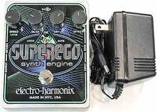 Used Electro-Harmonix EHX Superego Polyphonic Synth Engine Guitar Effect Pedal!