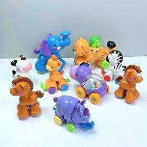 Fisher Price Click Clack Zoo Amazing Animals Toddler Toys Elephant Hippo Zebra
