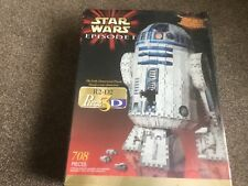 PUZZ 3D R2 D2 STAR WARS EPISODE ONE BRAND NEW AND  FACTORY SEALED BY WREBBIT