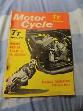 Motor Cycle(25,6,1964/T.T. Tech Review/Honda Twins Service/