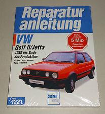 Reparaturanleitung VW Golf II / VW Jetta - ab Baujahr 1989!