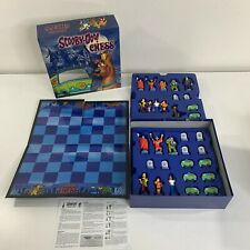 Scooby Doo Chess Board Game Set Cartoon Character Pieces Cardboard Box Complete