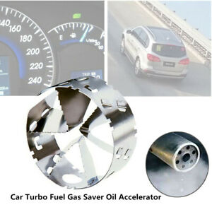 82-89MM Fourth Generation Auto Car Turbo Fuel Gas Saver Oil Accelerator Flexible