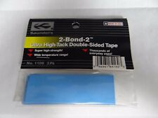 NEW SAUNDERS 2-BOND-2 ULTRA HIGH-TACK DOUBLE SIDED TAPE #1108 3 PACK  $4.99