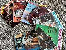 8 VINTAGE RADIO ELECTRONICS MAGAZINE 1959 ISSUES