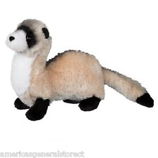 "DAPPER FERRET 9"" long stuffed animal Douglas Cuddle plush stuffed toy ferrett"