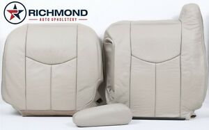 03-06 GMC Yukon XL 2500-Driver Side Complete Replacement Leather Seat Covers TAN