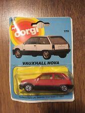 Corgi Junior Vauxhall Nova Original 1983 Unopened New SR SRi GSi GTE Opel Corsa