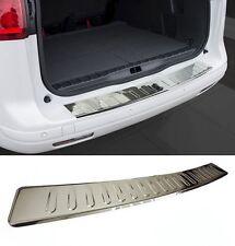 Für Toyota Auris Touring Sports Ladekantenschutz V2A Edelstahl + Abkantung Chrom