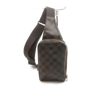Louis Vuitton LV Waist Pouch Bag N51994 Geronimos Browns Damier 1728859
