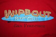 Wipe Out Bar & Grill San Francisco T-Shirt Medium