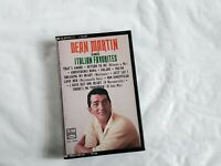 Dean Martin sings Italian Favorites Cassette 1984 Capitol records