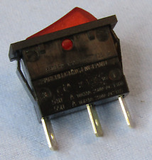Philmore 30 069 Spst On Off 125v Lighted Red Rocker Switch 15a 250v Ac