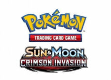 Sun & Moon Holofoil Rare Pokémon Individual Cards