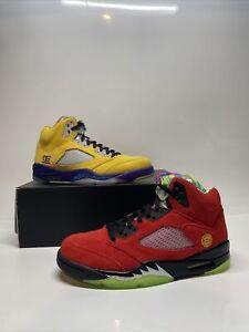 Size 8.5 - Jordan 5 Retro SE Solar Orange What The 5