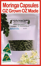 MORINGA AUSTRALIAN MADE CAPSULES-Certified 140G. approx 255-300 from Cairns