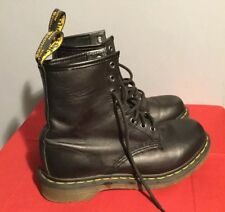 Dr. Martens 11821 Black 8 Eye Classic Combat Military Style Women's  Size 8