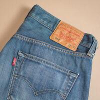 Vintage Levi 501 Jeans Blue Straight Button Fly Unisex (PatchW33L32) W 32 L 30