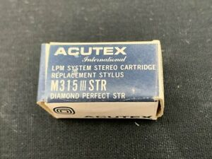 ACUTEX M315III STR REPLACEMENT STYLUS VINTAGE NEW OLD STOCK
