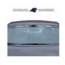 Team ProMark NFL Carolina Panthers Car Truck Suv Windshield Decal Sticker