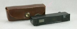 Zeiss Ikon Rangefinder With Leather Case