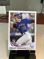 2013 TOPPS UPDATE NOLAN ARENADO ROOKIE CARD #US259. NM/MT