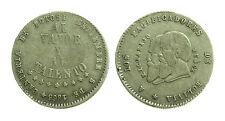 pcc1359_7) Bolivia 1/2 melgarejo 1865