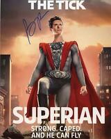 "Brendan Hines ""The Tick"" AUTOGRAPH Signed 'Superian' 8x10 Photo ACOA"