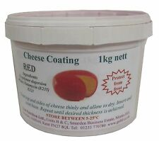 Red Cheese Coating - 1 kg (2.2 lb), + FREE recipe ebook, + FREE SHIPPING.