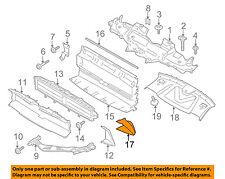 PORSCHE OEM 15-16 Macan Radiator Core Support-Air Duct Left 95B121699F1E0