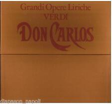 Verdi: Don Carlos / Previtali, Picchi, Silveri, Sciutti, Stignani, Caniglia - LP