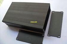 NEW DIY Aluminum Project Box Enclosure Electronic case Black 160x95x41mm(L*W*H)