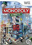 Monopoly Streets (Nintendo Wii, 2010) Disc Only, Tested
