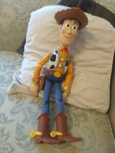 Disney Toy Story Sheriff Woody Pull String and Talking Doll very good condition