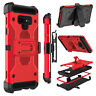 For Samsung Galaxy Note 9 Case 360° Holder Belt Clip Stand Shockproof Hard Cover