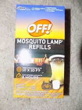 Off Mosquito Lamp Refills,  2 Repellent Diffusers, 2 Candles NEW