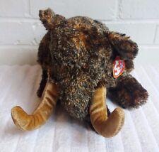 Ty Beanie Buddy Giganto Wooly Mamoth 2002 Stuffed Animal Plush Toy Beanbag (A16)