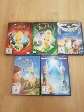 Tinkerbell Sammlung / Walt Disney / 5 DVD´s *