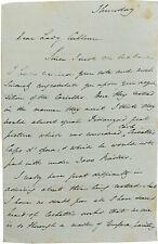 1842 Rome Letter - CARLO CRIVELLI PAINTING - Renaissance Art - JAmes Dennistoun