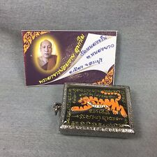 Tiger Ajahn Somchai Talisman Thai Buddha Amulet Holy Protect Fetish Pendant