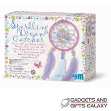 Make A Sparkling Fairy Dream Catcher Craft Kit Set Toys Gift Novelty Childs Kids