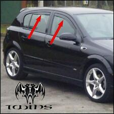 4 Deflettori Aria Antiturbo Oscurati Opel Astra H 2004-2009 5 porte
