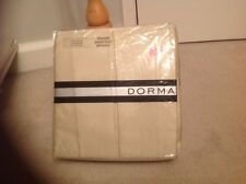 Dorma Kingsize Valance ISABELLE  Harrods London Essence Cream Beige Pleat Satin