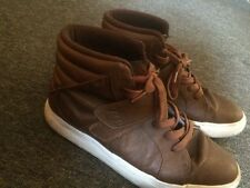 Brown high top Android Homme sneakers size 9.5