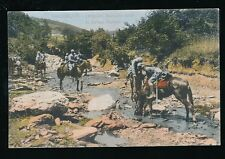 Greece SALONIQUE Salonica French Dragoons in Krusa Balkan c1900/10s? PPC
