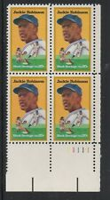 ALLY'S STAMPS US Plate Block Scott #2016 20c Jackie Robinson [4] MNH [LR]