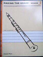 Making the Grade, grade 3 clarinette, Chester Music, 1992