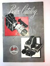 Vintage BOLEX - Paillard Movie Camera Projector & Accessory Catalog